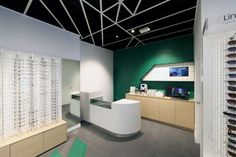 529ca26b97d Crystal Vision store by Masterplanners Interiors Perth Australia Optical  Shop