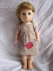 """VINTAGE POOR PITIFUL PEARL 12"""" DOLL FROM BROOKGLAD CREATIONS 12B-1 1950'S TOY,  Mary, you should ask Bob if he remembers this doll:)"""
