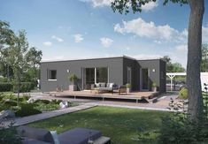 FlyingSpace zwei Module kombiniert Container Home Designs, Design Case, Tiny House, House Design, House Styles, Outdoor Decor, Home Decor, Spaces, Chalets