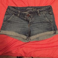 American Eagle Jean shorts Great condition American Eagle Outfitters Shorts Jean Shorts