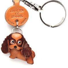 Cavalier King Charles Keychain, $13.50, now featured on Fab.