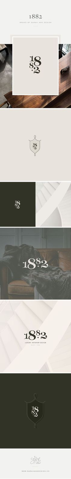 Branding for a luxury interior design concierge—bold, distinctive, and modern. with just a hint of femininity. Corporate Design, Brand Identity Design, Brand Design, Design Design, Home Design, Design Model, Graphic Design, Design Minimalista, Luxury Interior Design