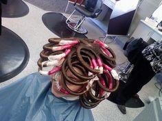 Perm Rods, Perms, Curlers, Cape, Dreadlocks, Hair Styles, Board, Photos, Blog