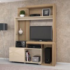 Tv Wall Design, Tv Unit Design, House Design, Living Room Tv, Living Room Furniture, Tv Cupboard Design, Furniture Dressing Table, Tv Stand And Entertainment Center, Small Space Storage