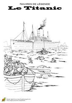 Coloriage Bateau Coule.55 Images Delicieuses De Coloriages De Bateaux Party Boats Ship