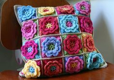 Flower Pillow | Flickr - Photo Sharing!