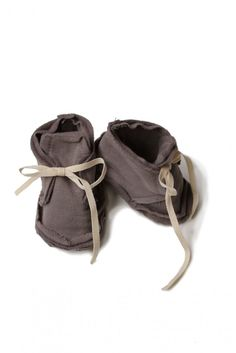 Raw Edged Booties - shop | Gray Label