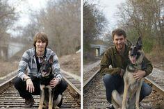 O antes e depois de cães e seus donos | #AntesEDepois, #Cães, #Jmj
