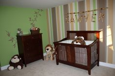 Ok I absolutely love this nursery. And the stick or you can use a fishing pole for the name