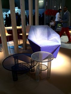 Gemma armchair by Daniel Liebeskind for Moroso