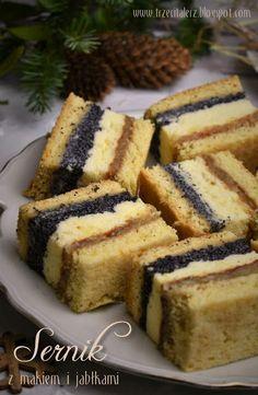 Polish Cake Recipe, Polish Recipes, Polish Food, Pastry Recipes, Cake Recipes, Dessert Recipes, Desserts, Russian Cakes, Breakfast Menu