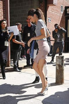 Queen Kendall — September 16, 2015- Kendall heading to the Yeezy...