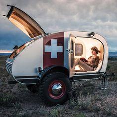 Swiss Caravan by Vintage Overland®