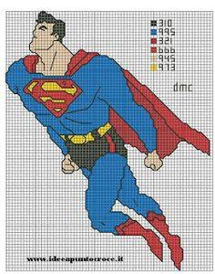 ENCANTOS EM PONTO CRUZ: Superman
