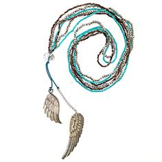 Angel Wings Beaded Necklace