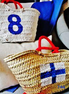 CAPAZOS&744 Colección 2013 HANDPAINTED Mod.Pequeños ... letra naútica''X'' + nº8 www.sietecuatrocuatro.blogspot.com También puedes seguirnos en INSTAGRAM ... PINTEREST...TWITTER ... por sietecuatrocuatro