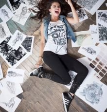 Selena Gomez Chosen For The New Adidas Neo Fall 2013 Campaign