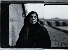 Susan Sontag shot by Annie Leibovitz in Paris.