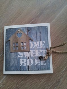 New home card Welcome Home Cards, New Home Cards, House Of Cards, Stamp Making, Card Making, Housewarming Card, House Keys, Paint Colors For Living Room, Creative Cards