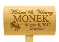 Monek Wedding Crab Mallet
