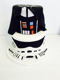 Darth Vader and storm trooper mash up!