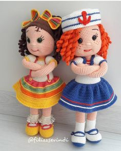 Gorgeous Amigurumi Dolls Love this sweet travelling doll crochet amigurumi pattern!As you know, I love amigurumi! And I'm so impressed by the lovely amigurumi doll patterns that are a Yazıyı Oku… Make your child your own toy … my the is Doll Dress Crochet Patterns Amigurumi, Amigurumi Doll, Amigurumi Tutorial, Love Crochet, Crochet Baby, Crochet Dolls Free Patterns, Knitted Dolls, Stuffed Toys Patterns, Crochet Animals