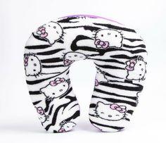 Hello Kitty Neck Pillow: Zebra