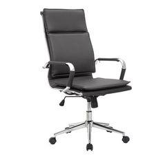 silla oficina Amst negra   Tiendas On