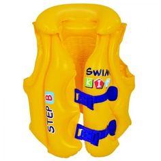 Vesta de salvare gonflabila Kids Swimming, Swimming Pools, Swim Training, Yellow Bedding, Baby Invitations, Buy Buy Baby, Beach Pool, 6 Years, New Product