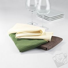 Organic Kitchen Bar Towels (Set of 3) at Wine Enthusiast - $19.95