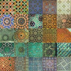 Islamic Art and Architecture.  These are the roots of Mexican design elements.  They came to Spain with the Moors and then to Mexico with the Spaniards.