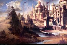 castle of prince of persia by ~NURO-art on deviantART