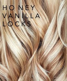 Honey Vanilla Locks perfect for summer! // Honey Vanilla Locks perfect for summer! // – Honey Vanilla Locks perfect for summer! Natural Dry Shampoo, Neutral Blonde, Color Rubio, Honey Hair, Blonde Honey, Caramel Blonde Hair, Hair Color And Cut, Fall Blonde Hair Color, Blonde Hair For Summer