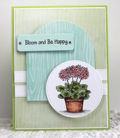 DTGD14justwritedesigns, CAS, Bloom and Be Happy by AR