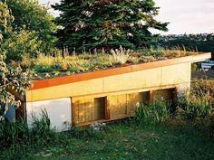 Green Roof Garage, Harrison Architects   Remodelista Architect / Designer Directory
