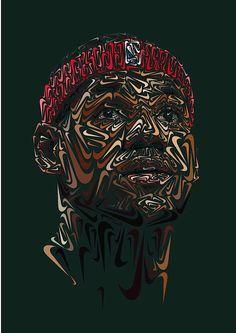 Nike Swoosh Portraits