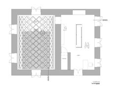 Conarte Bookstore,Floor Plan