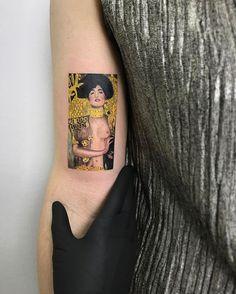 Gustav Klimt/Judith and the Head of Holofernes #tattooist #tattooed #tattooink #tattoo #inked