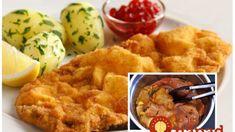 """Ako pampúšik nadýchané """"opité"""" rezne: Jediné rezne, ktoré sú užasne mäkučké aj na druhý deň! Mashed Potatoes, Meat, Chicken, Ethnic Recipes, Food, Whipped Potatoes, Smash Potatoes, Essen, Meals"""