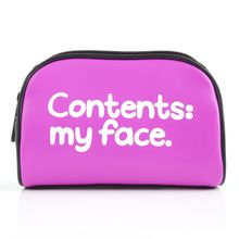 Contents My Face Cosmetic Bag