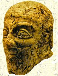 Sargon - Statuette d'ivoire