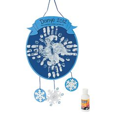 Handprint Snowflake Craft