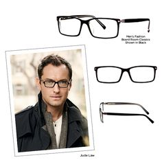 Jude Law could pull off just about any pair of frames 7d6d2e2192d76