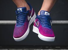 acheter chaussure Nike Air Force 1 Ultra Flyknit Low PRM 'USA' Iridescent Swoosh (2)