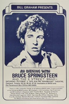 Bruce Springsteen & the E Street BandPoster
