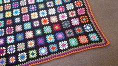 Afghans,Granny Squares and Joining Methods - Learn how-to crochet with Clare from bobwilson123