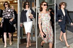 What we think about Linda Evangelista's outfits at family court > http://ofwitandwill.com/wear-it/what-to-wear-to-marriage-therapy/