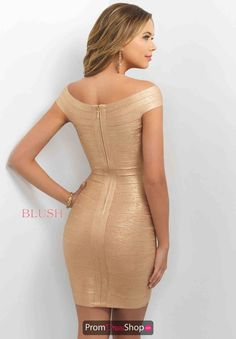 Blush Bandage Fitted Dress C372