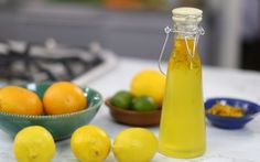 Look at this recipe - Citrus Syrup - from Jenny Morris and other tasty dishes on Food Network. Jenny Morris, Recipe Details, Tasty Dishes, Hot Sauce Bottles, Food Network Recipes, Syrup, Beverages, Drinks, Cantaloupe
