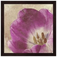 Metaverse Art Buttercream Tulip I Framed Wall Art (120 CAD) ❤ liked on Polyvore featuring home, home decor, wall art, brown, framed wall art, brown wall art, framed flower wall art, flower home decor and flower stem